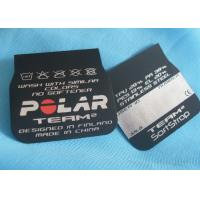 Eco - Friendly Fabric Clothing Screen Printing Label Matt / Shinny Surface Manufactures