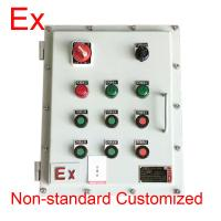Chemical Industry Explosion Proof Distribution Box , Low Voltage Flame Proof Panel Manufactures
