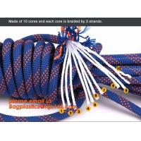 personal protective escape rope polyester rope, high strength fire escape safety climbing rope Manufactures