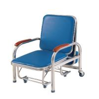 Stainless Steel Bedside Medical Infusion Chairs Attendant Accompany Folding OEM Manufactures