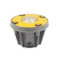 Optional voltage super waterproof blue inset LED taxiway lights for helideck Manufactures