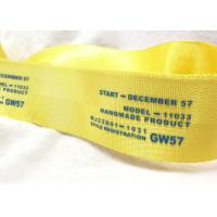 Eco - Friendly Narrow Nylon Elastic Woven Tape Woven Name Tapes 30D / 50D / 100D Yarn Manufactures