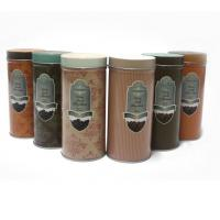 Custom vintage tin coffee canister Manufactures