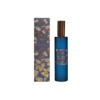 Alcohol free Aromatherapy Room Spray , Blue Glass Bottle Room Spray Manufactures