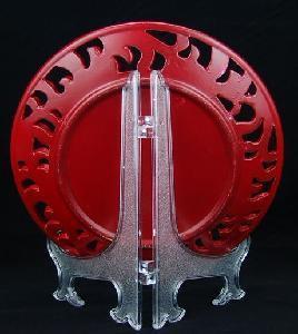 Acrylic Dish Rack (POP-AC2) Manufactures