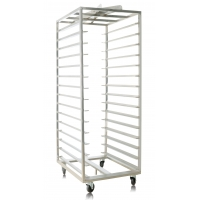 15 Shelves Double Row 660x810x1780mm Stainless Steel Trolly Manufactures