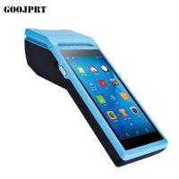 Buy cheap 3G Android Wireless Pos Terminal 58mm Max Paper Size With Customized UI Design from wholesalers