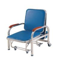 Stainless Steel Accompany'S Chair Bed , Foldable Sleeping In Hospital Chair Manufactures