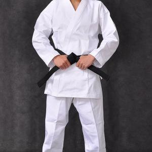 Martial Arts Karate Uniform With Black Belt Light Weight Karate Training Uniform / Cotton Light Weight Master Karate Uni Manufactures