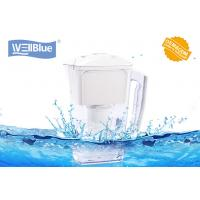 Buy cheap 2.5L Portable Alkaline Water Pitcher , Mineral Water Jug BPA Free FDA /CE / ROHS from wholesalers