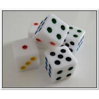 Buy cheap Cheap dice with customized logo resin dice  from wholesalers