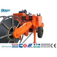 Buy cheap Orange 129kw 173hp Overhead Line Stringing Equipment Hydraulic Cable Puller from wholesalers