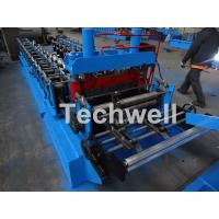 Buy cheap 0.8-1.5mm Thickness Cold Roll Forming Machine For Making Traverse Machine With from wholesalers