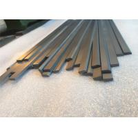 Professional Sintered Tungsten Carbide Flat Stock  Unground Surface For Cutting Tools Manufactures