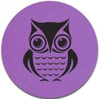 Owl Picture Velcro Carpet Markers / Carpet Mark Its 100% Nylon Material Manufactures