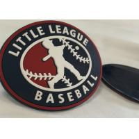 Custom Brand Name Logo Rubber Logo Patches For Clothing Mirco Injection Manufactures