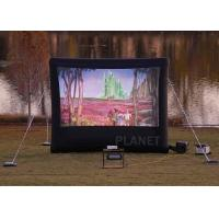 Commercial Inflatable Movie Screen 210 D Reinforced Oxford Material Manufactures
