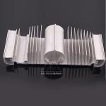 Heatsink Aluminum Extrusion Profiles Mill Finish Customize Size T5 Temper
