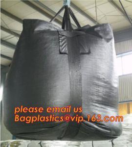 High Quality Big Bulk Screen Printing 1 Ton PP Woven jumbo Container Bag,Top open virgin polypropylene woven big jumbo b Manufactures