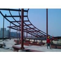 High rise building top decoration steel  structure construction Manufactures