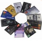 Bank Credit Card Pen Drive Memory Stick Flash Card Password Protect