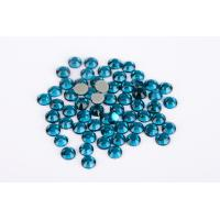 Lead Free Hotfix Crystal Rhinestones High Color Accuracy Wear Resistance Manufactures