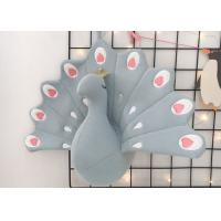 Home Decoration Animal Plush Toys / Peacock Stuffed Toy Valentine Doll Manufactures