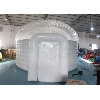 Waterproof Lawn Dome 0.7mm  Inflatable Igloo Tent Manufactures