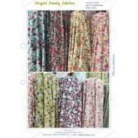 chiffon printing fabric fashion design cheap price Manufactures
