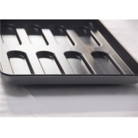 Aluminum Steel 8 Cavity 600x400x33mm Hot Dog Bun Pan Manufactures
