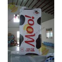 Weather Resistant Inflatable Product Replicas Milk Packaging OEM Service Manufactures
