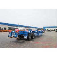 Commercial Small Flatbed Trailer 35 Tons Port Yard Chassis For Container Transporting Manufactures