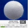 Buy cheap 0.212mm B80 Ceramic Bead Blasting Material Good Sphericity from wholesalers