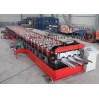 Buy cheap Customized Metal Steel Deck Sheet Roll Forming Making Machine Supplier from wholesalers