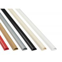 Duct Conduit Ethernet Cable Accessories Semi Circle Self Adhesive Micro PVC Trunking Manufactures