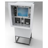 Wall Mounted / Through Wall Kiosk Cash Operate For Money Deposit Withdraw Transfer Manufactures