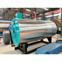 Industrial oil Fired Thermic Fluid Heater , Oil / Gas Fired Thermal Fluid Systems Manufactures