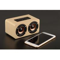 Buy cheap Mini Wood Bluetooth Speaker Cabinet , 10W Portable Wireless Wooden Sound Box from wholesalers