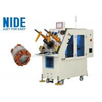 Generator motor automatic stator coil inserting machine Single working station Manufactures