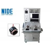 Nide Double Stations Motor Testing Equipment For Testing Stator Working Manufactures