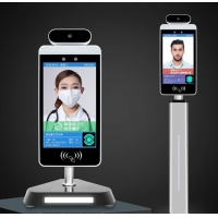 """Android 7.1.2 RK3288 8"""" Face Recognition Infrared Thermometer Manufactures"""