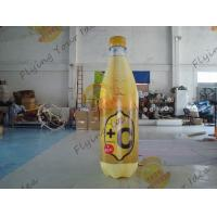 Colorful Supermarket Inflatable Product Replicas Promotional Drink Holders Manufactures
