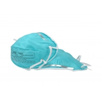 Non Sterile Respirator 3M 1860 Nosefoam Flat Fold N95 Face Mask Manufactures