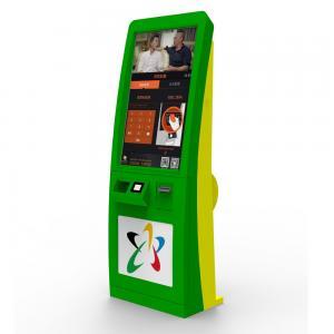 110-240V 50HZ / 60HZ Ticket Vending Kiosk With Card Reader 7x24 Hours Running Manufactures