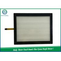 Flat TP 5 Wire Resistive Touch Panel / Touch Screen With Resistive Technology Manufactures