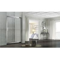 Buy cheap Without Magnetic Seals Glass Shower Screens Double Sliding Stainless Steel One from wholesalers