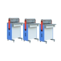 Wire Closing Calendar Hole Punch Machine , 2.5-6.5mm Margin Paper Punching Equipment Manufactures