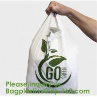 Corn Starch Compostable Bag Biodegradable Corn Starch PLA PBAT Fully Compostable Disposable Poo Bags, Sacks, Packaging Manufactures