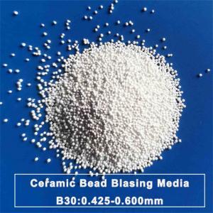 Mold Cleaning Zirconia Sand Ceramic Bead Blasting B30 0.600mm Manufactures