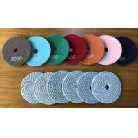 Buy cheap 4inches wet polishing pads for granite from wholesalers
